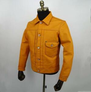 Horsehide 1940's Type Lee COWBOY WWII Leather Jacket Camel Brown 3XL (44)