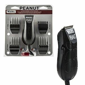 Wahl Peanut Trimmer 8655-200 Hair Cut Black Color New!