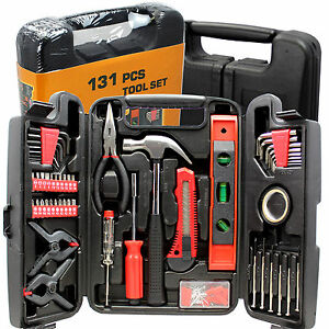 Home/Garage/Mechanic 131-Piece Tool Set in Carrying Case BRAND NEW SEALED