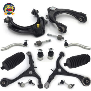 Front upper lower control arm Kit for 03-07 Honda Accord Acura TSX 2.4L w TieRod