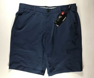 Men's Under Armour Match Play Golf Shorts Blue Size 36 NWT 1253487 408