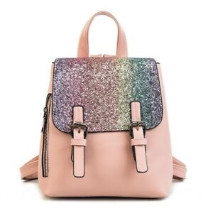 Pu Leather Women Backpack Fashion Backpack Small Backpacks For Girls Bag Female