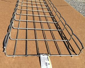 Lot of 82 Cablofil CF54300EZ Cable Trays 10 ft x 12 in x 2 in zinc-plated steel