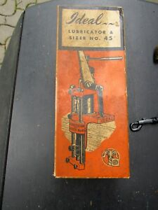 LYMAN IDEAL BULLET LUBRICATOR AND SIZER NO.45 IN ORIGINAL BOX