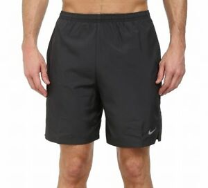 Nike NEW Solid Black Mens Size 2XL Dri Fit Challenger Athletic Shorts $35 322