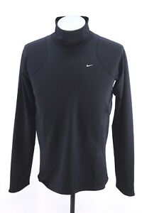 youth boys black NIKE FIT DRY sport shirt practice warm up stretch XL 18 20