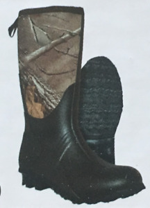 Youth Hunting Boots Itasca Everglades 100% Waterproof 4MM Neoprene Camo Size 1