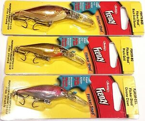 BERKLEY FLICKER SHAD LURE 5CM CHROME CLOWN TACKLE