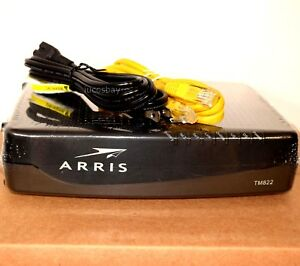 Arris TM822G Docsis 3.0 Cable VoIP Telephony Modem - Cable OneMediacomComcast