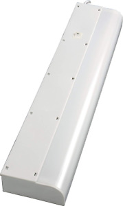 Fluorescent Light Fixture Basic Plug In 18 Inches Warm White with On Off Switch $22.99