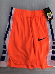 Nike Dry Boys Basketball Shorts Size S Red Dri- Fit Technology Swooth Br New