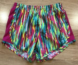 NIKE DRI FIT Running Shorts Youth XL Multicolored $12.99