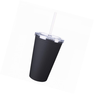 Logotastic Newport Tumbler with Straw Case (24 Pack) Clear 16 oz