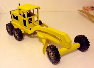 Rare Vintage Tonka Road Grader Pressed Steel Road Construction Toy 1965-67 Only