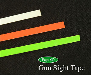 Gun Sight Tape Easy to Do Don#x27;t paint Clearly see your Front Sight 12quot; Total $6.00