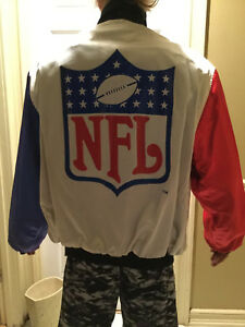 RARE!! Official Jeff Hamilton Miami Dolphin, NFL, Reversible Mens X Large Jacket