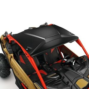 CAN-AM MAVERICK X3 SSP 2.3MM FORMED BLACK ALUMINUM ROOF # 715004224