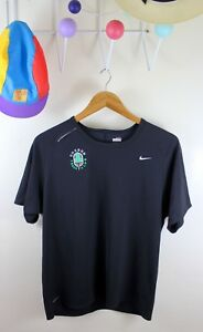 Oregon Track Club Nike Fit Dry Shirt Racing Black L Team Issue OTC Running UO