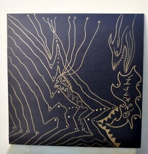 Current 93HOH ISLAND Approved Test Pressing Art Sleeve Signed David Tibet RARE!