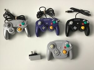 NINTENDO GAMECUBE CONTROLLER ORIGINAL AUTHENTIC GAME CUBE OFFICIAL WAVEBIRD WII