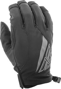 Fly Racing Black Motocross Cold Weather Title Gloves Choose Size