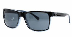 Authentic Armani Exchange Sunglasses Unisex AX 4016 Black 805187 AX4016 57mm