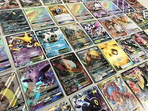 Pokemon Card Lot 100 OFFICIAL TCG Cards Ultra Rare Included GX EX MEGA OR V $22.95