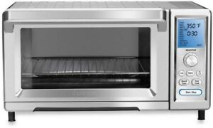 Cuisinart Toaster Oven 0.95 cu. ft. Sandwich Bagel 13 in. Pizza Stainless Steel