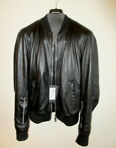 dolce gabbana leather jacket size 52  brand new ! Made in Italy