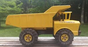 Vintage 1970's Mighty Tonka Dump Truck Metal Construction USA One owner!