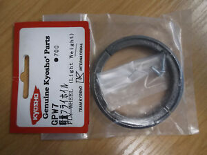 Vintage Kyosho Part GPW7 Fly Wheel (Light Weight) for 18 Motorcycle Kits *NEW*