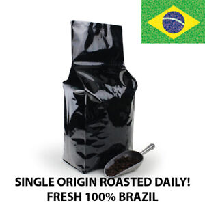 2 5 10 lb Brazil Coffee Roasted Fresh Daily in the USA Whole Bean or Ground