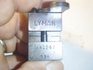 Lyman 441267 Single Cavity Bullet Mold Lead Bullet Casting Mold