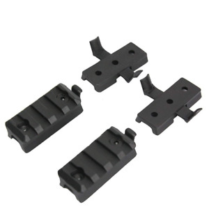 Airsoft Tactical Helmet Accessory ARC Rail Mount Kit for Scope Camera Attachment