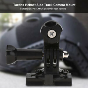Tactics Helmet Side Track Camera Mount Adapter for Sony VCT-STG1 AS50R AS300R w