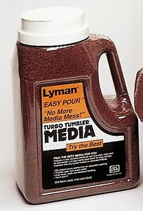 Lyman Reloading Tufnut Walnut Case Cleaning Medail 7 lb Easy Pour