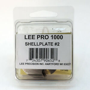 Lee Precision Reloading Pro 1000 #2 Shell Plate 90652