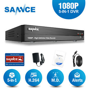 SANNCE 16CH 8CH 4CH Full 1080P DVR HD Video Recorder for Home Security System