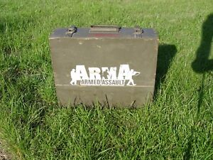 ArmA Armed Assault Collector's Edition (in wooden box for ammunition)