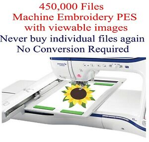 450000 PES ONLY Machine Embroidery Designs on USB  Sale til 103119