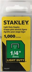 Stanley TRA204T 1/4