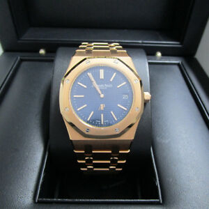 Audemars Piguet Royal Oak Rose Gold Auto Extra Thin 39mm 15202OR.OO.1240OR.01