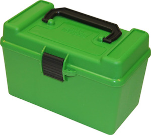 MTM H50-RL Deluxe 50-Round Rifle Ammo Case Box 30-06 270 Win 25-06