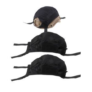 3 Pcs Tactical Army Gear FAST Camo Helmet Accessories Cover without Helmets