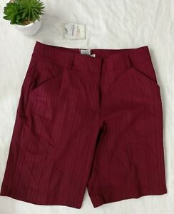 Nike Golf Shorts Women's Size 10 Fit Dry Athletic Wear NWT 5C