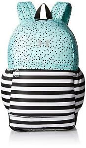 UA Under Armour FAVORITE GIRLS YOUTH BACKPACK 1277402 NWT B&W BLUE 11X5.3X16