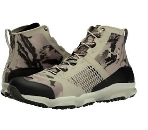 Under Armour SpeedFit Hike MID Camo Army Tactical Hunting Trail Boots 11 Mens