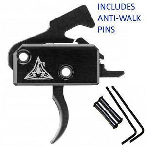 Enhanced Drop-In Trigger 3.5lb Single-Stage Curved w ANTI-WALK