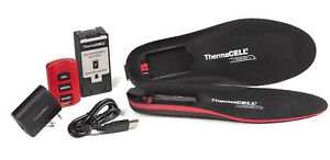 ThermaCELL ProFLEX Heated Insoles Hunting Hiking Outdoor Winter Snow Boot Shoe