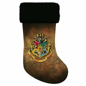 Harry Potter NEW * Hogwarts Crest Stocking *19 Inch Christmas Holiday Kurt Adler